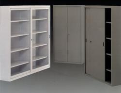 Armadio Metallico Ante Scorrevoli Vetro.Armadi In Metallo Ambulatorio Arredamento Arredi Per Comunita